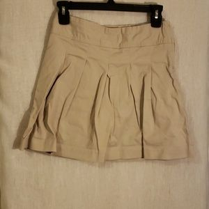 TWO Khaki Uniform Skirts